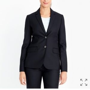 J. Crew Factory Suiting Lightweight Wool Blazer 8